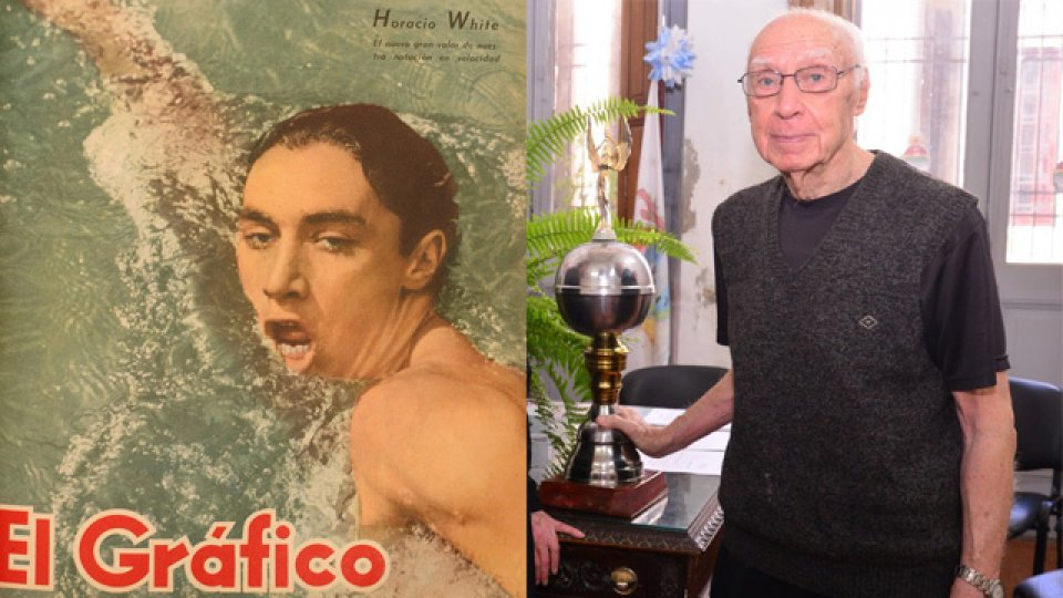 La natación y todo el deporte argentino despide al legendario Horacio White.