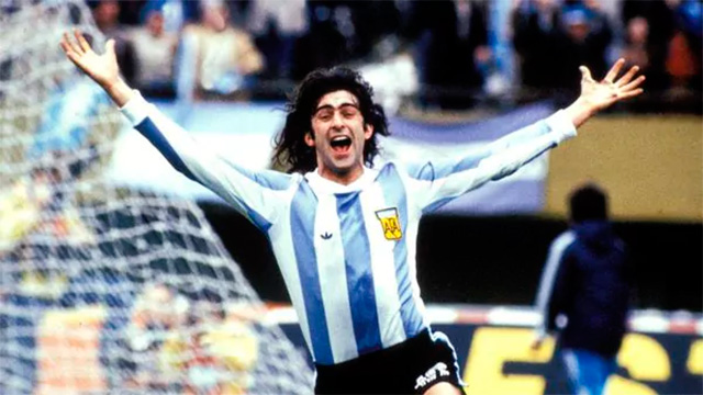 """""""Maradona ganó un mundial, no una guerra"""", disparó el Matador."""