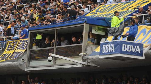 Sampa volvió a La Bombonera luego del empate de Argentina frente a Perú.