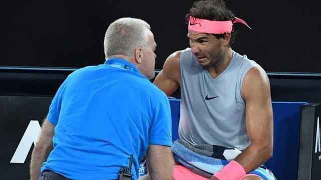 """""""Para mí no es un problema de torneos sino de superficies duras"""", analizó Rafa."""