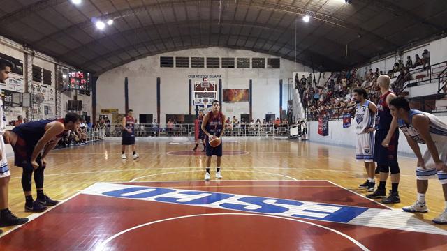 Olimpia se llevó un claro truinfo ante San Martín.