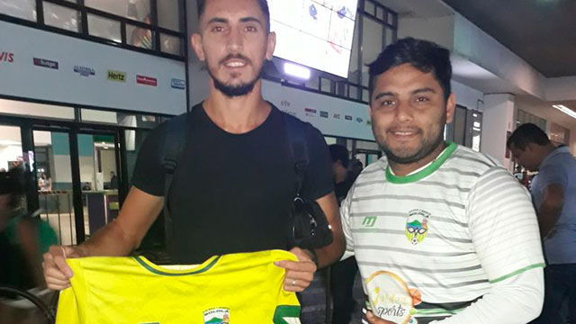 El paranaense Juan Lazaneo ya está en Guatemala.
