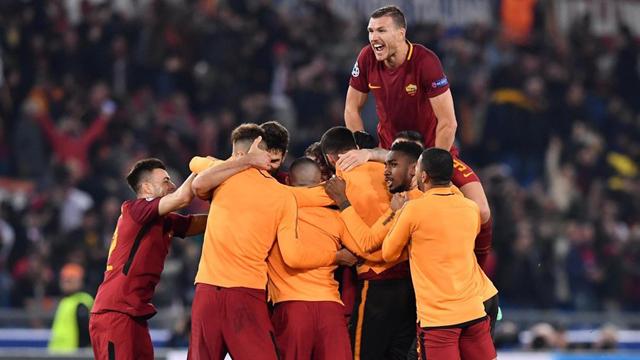Roma consiguió el resultado que necesitaba e hizo historia eliminando al Barsa.