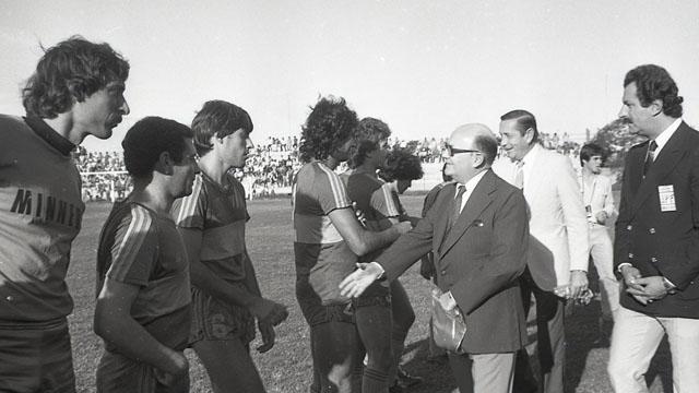 El día en que Diego Maradona jugó en la cancha de Patronato.
