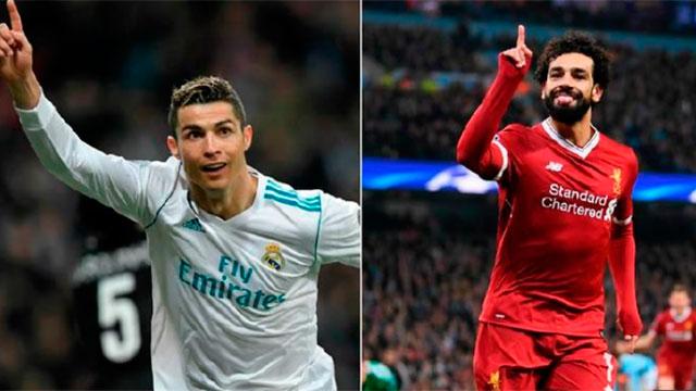 Real Madrid y Liverpool se enfrentan en la final de la Champions League.