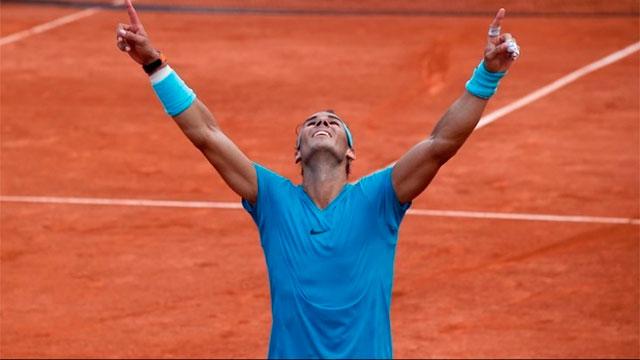 El español se impuso por 6-4, 6-3, y 6-2 y logró su undécimo título en París