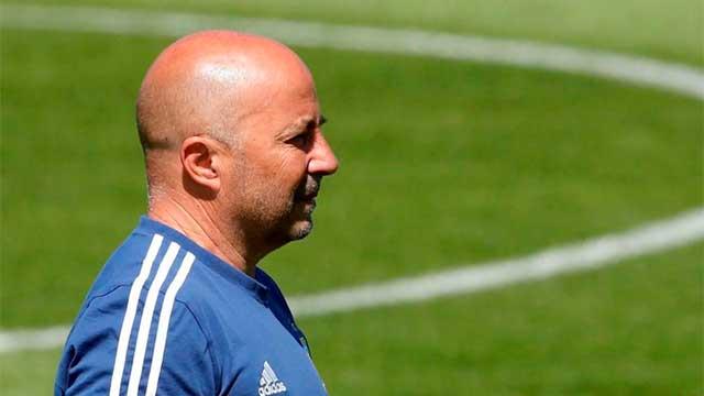 Jorge Sampaoli, muy cerca de ser el entrenador mejor pago de Brasil.