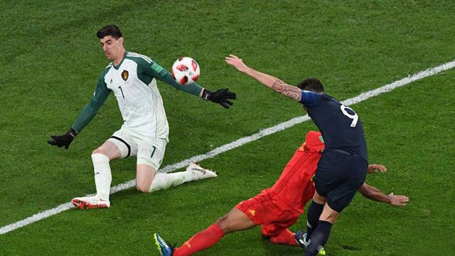 """""""Ha sido un partido frustrante, Francia no ha jugado a nada"""", custinò Courtois."""