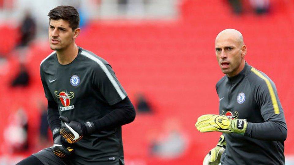 Si Courtois se va al Madrid, Willy quedaría como primera opción en los Blues.
