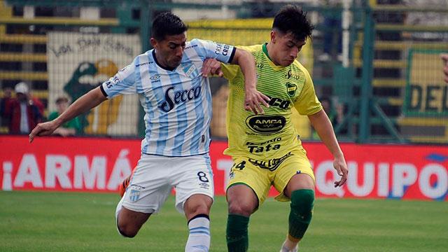 Defensa y Atlético Tucumán igualaron en Varela.