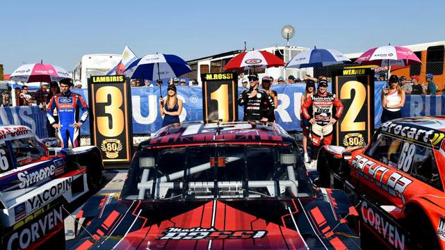 Rossi se quedó con el mejor registro en Paraná.