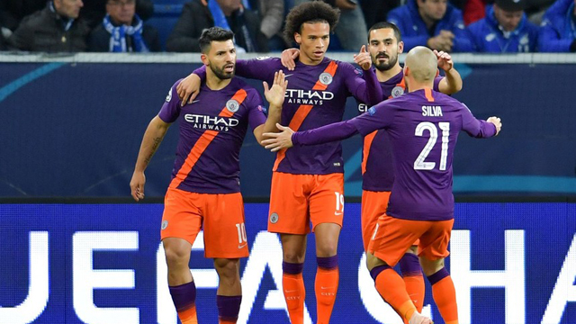 Agüero aportó en el triunfo de Manchester City.