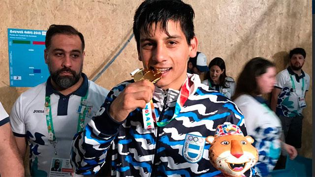 Arregui fue medalla dorada en los Juegos de la Juventud 2018.