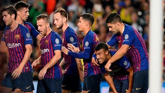 El Barsa no extrañó a Messi y se impuso en su cancha ante el Inter.
