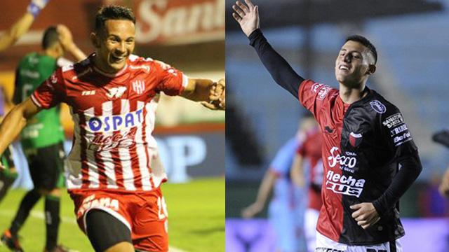 Gallegos (Unión) y Chancalay (Colón), jugarán la Copa Sudamericana 2019.