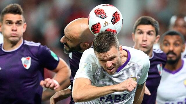 River perdió 5-4 por penales frente al Al Ain.