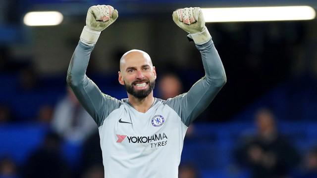 Willy regresó al arco del Chelsea luego de dos meses sin actividad.