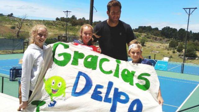 Delo le cumplió el sueño a los chicos entrerrianos Paulina, Isabella y Gregorio.