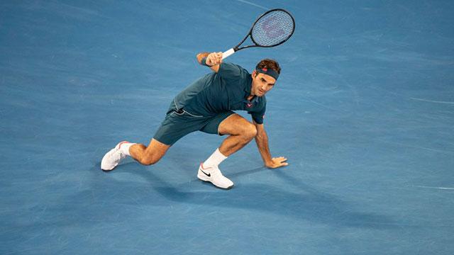 El suizo jugó este año un solo torneo, precisamente el abierto de Australia.