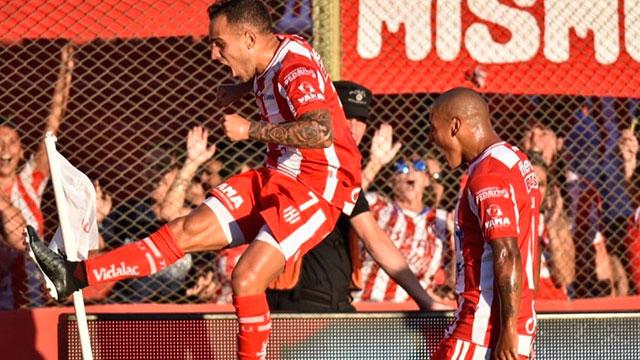 El Tatengue festejó con los goles de Fragapane y Mauro Pittón. (Prensa Unión)