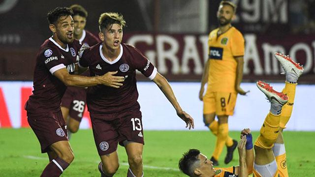Lanús se recuperó con una victoria ante Rosario Central.