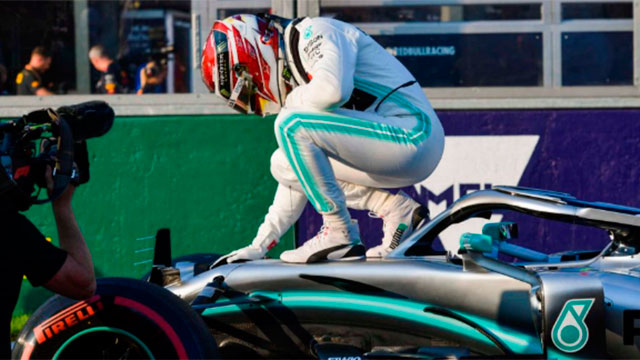 Hamilton conquistó su sexto título de Fórmula 1.