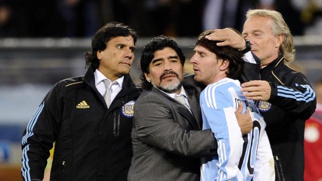"""""""Es muy difícil la vida sin Diego"""", manifestó con tristeza el Negro."""
