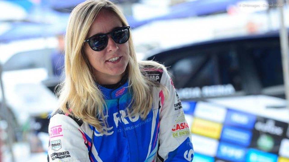 La entrerriana habló de la actualidad del deporte motor.