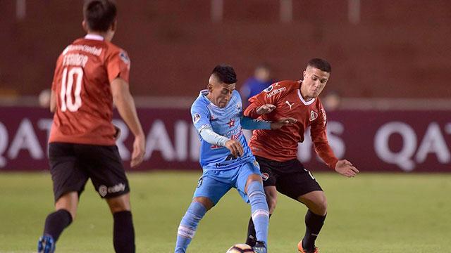 Independiente pasó de fase en Perú.