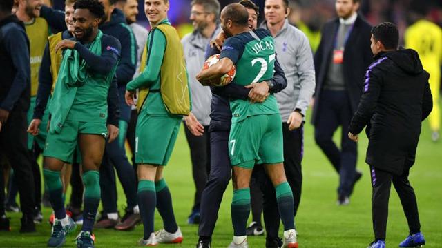 Los Spurs lograron la hazaña frente al Ajax en Holanda y están en la Final.