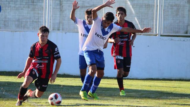 Los pibes de Patronato no pudieron ante Vélez.