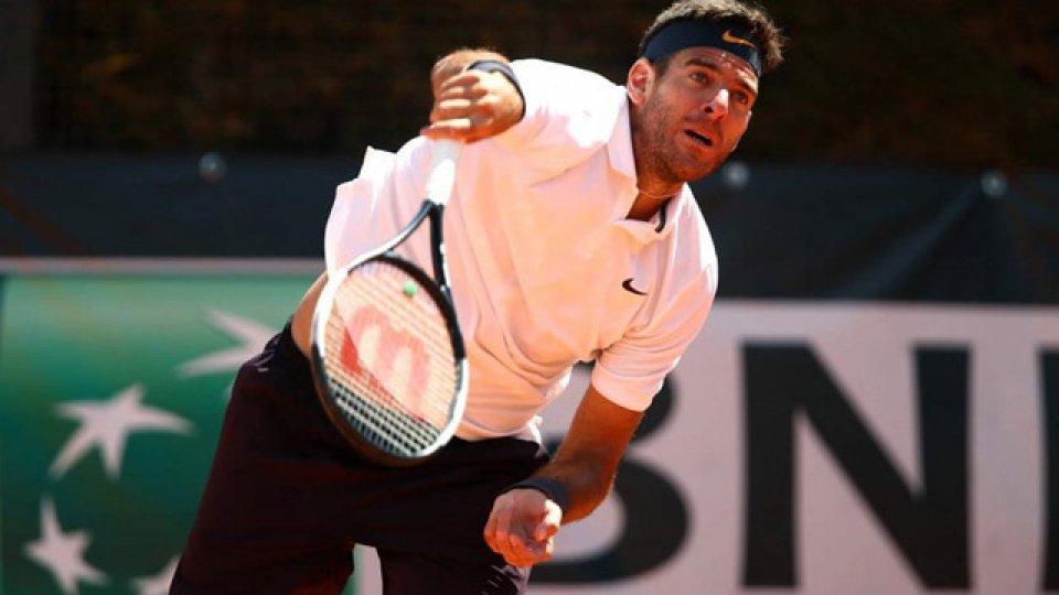 Del Potro debuta en Roland Garros.