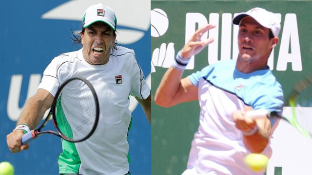 Charly y el rosarino tuvieron una rápida despedida de Roland Garros.