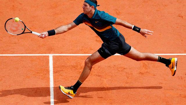 El tenista tuvo una regular actuación en París.