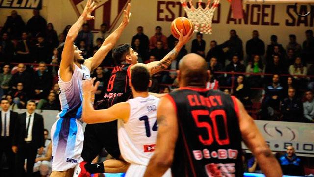 González con 27 puntos en el cotejo (18 en el último cuarto) fue la gran figura.