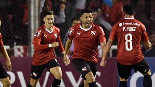 Independiente venció a Rionegro Águilas y sigue adelante en la Sudamericana.