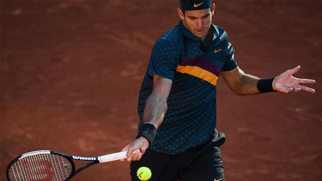 Delpo se afianza en Roland Garros a base de su buen juego y resultados.