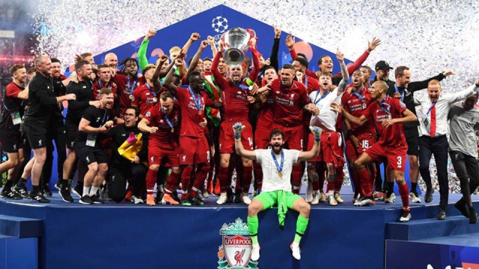 Los Reds derrotaron a los Spurs y consiguieron su sexta Champions League.