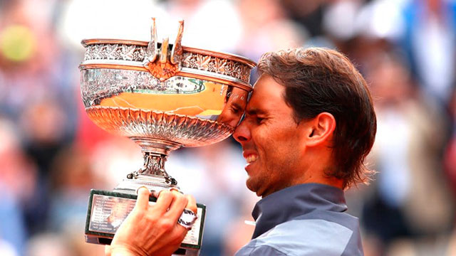 Rafael Nadal hizo historia.