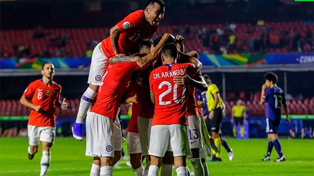 Chile goleó a Japón en el debut y reafirmó que es candidato.