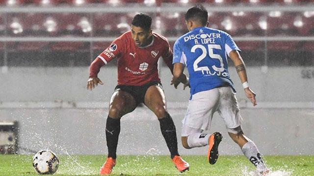 En el debut de Beccacece, Independiente ganó por la Copa Sudamericana.