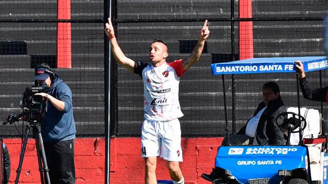 """Motiva entrenar para quedarte en Primera División"", aseguró Chimino."