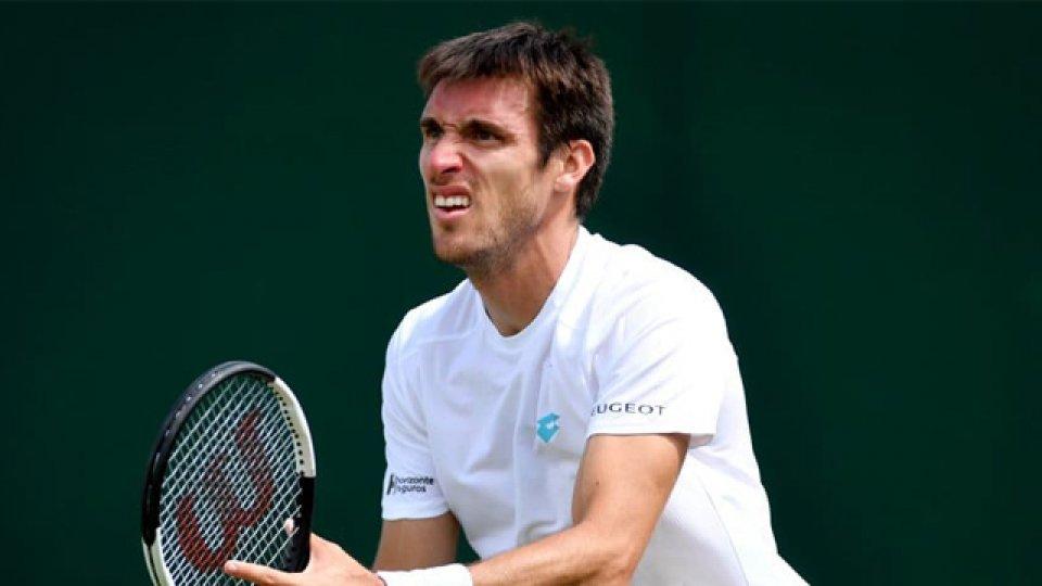 El Yacaré está fuera de la competencia de singles pero le queda el dobles.