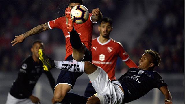 Independiente sacó ventaja en la última jugada del partido.