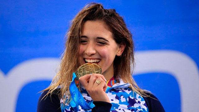 Delfina Pignatiello brilló en los 800 metros libres y se quedó con otra  medalla de oro - Superdeportivo.com.ar