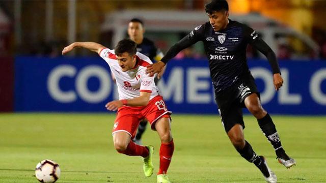 Independiente perdió en Ecuador y fue eliminado de la Copa Sudamericana.