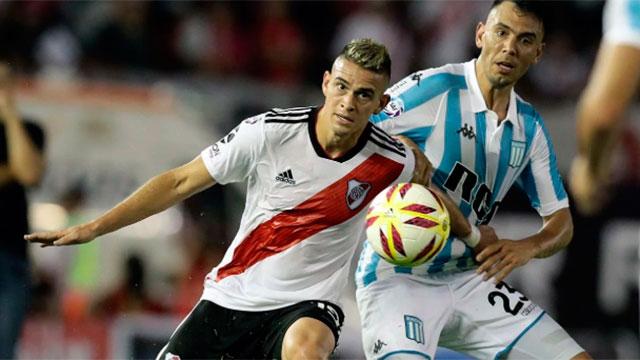 River y Racing se cruzarán en la final por la Supercopa Argentina.