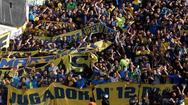 La barra del Xeneize hizo de las suyas en Quito.