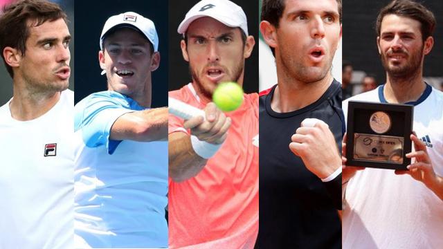 Pella, Schwartzman, Mayer, Delbonis y Londero, los argentinos en el US Open.