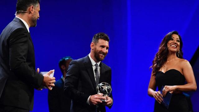 La Pulga Messi superó al senegalés Mané y al portués Cristiano Ronaldo.